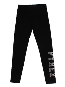 Legging Pyrex Kid in Cotone Bielastico 016650 con Brillantini