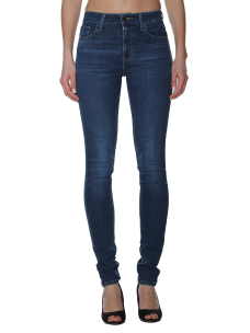 Jeans Levi's 721 High Rise Skinny Game On Woman Stretch