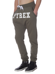 Pantalone Pyrex in Felpa Garzata 28314 Made in Italy
