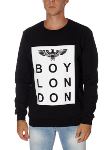 Felpa Boy London Unisex Cotone Felpato BL952 Made in Italy