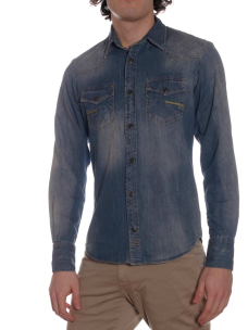 Camicia Jeans Meltin Pot Carey