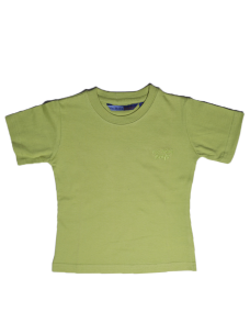 T-Shirt MyBaby-Lime 100 % Cotone