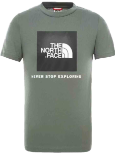 T-Shirt The North Face Kid NF0A3BS2-NYC1-KID Puro Cotone