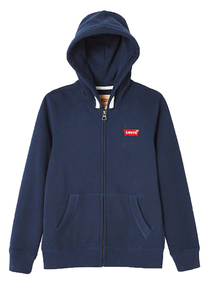 Felpa Levis Kid Cotone Felpato Full Zip NM17107
